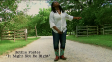 "Ruthie Foster – ""It Might Not Be Right"""